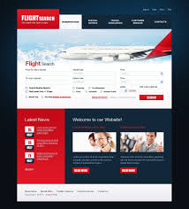 Airline Tickets Psd Template 54086