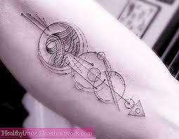 Linework Styl Liniové Tetování Péče O Pleť 2019