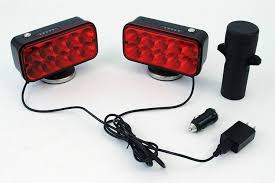 Wireless Trailer Lights Amazon Boxer Rechargeable Wireless Led Tow Light Trailer Light High Power Magnetic Base Plug And Play 7 Pin Transmitter Wireless Fcc Dot Compliant Water