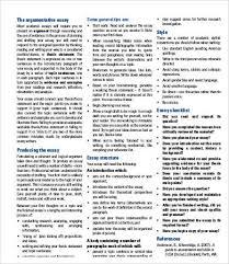 Argumentative Essay 9 Argumentative Essay Templates Pdf Doc Free Premium Templates