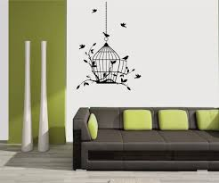 Small Picture meSleep Birds Design Black Wall Sticker Amazonin Home Kitchen