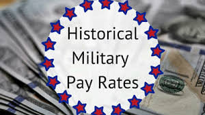 2018 Military Pay Chart Bah Historical Military Pay Charts 1949 To 2019