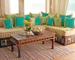indian living room furniture. moroccan style sofa in reclaimed wood eclectic living room los angeles by keyla torres tara design indian furniture