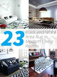 black white living rug area rugs modern rooms and large white area rug black
