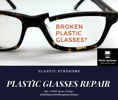 broken spectacles glasses and