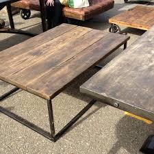 industrial wood furniture. Industrial Wood Coffee Table Oversized . Furniture U