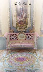 pink carpet 1 12 dollhouse furniture