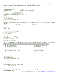 174 FREE Love and Marriage Worksheets