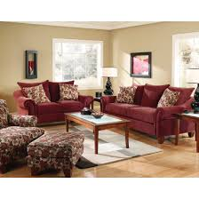 red accent chairs for living room. Cebu Living Room - Sofa, Loveseat, Accent Chair \u0026 Ottoman Wine (2833 Red Chairs For