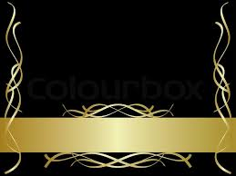 black and gold background powerpoint