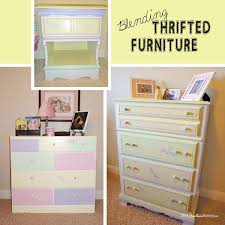 Image Vintage Create This Whimsical Look For Little Girls Room By Blending Mismatched Thrifted Furniture With Paint Hometalk The Secret To Blending Thrifted Furniture Onecreativemommycom