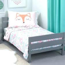 toddler bed duvet sheet sets pink girl 4 piece bedding set safety dunelm