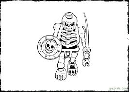 Dinosaur Bones Coloring Pages Free Halloween Skeleton For