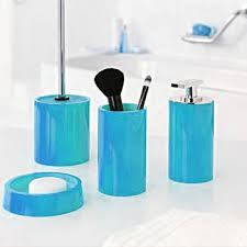 Lacca Bath Accessories  Light Blue From ABC Carpet U0026 HomeAqua Colored Bathroom Accessories