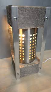V Block Fixture Design Tev17 62 Pallet Block Lamp V 3 In 2020 Diy Light Fixtures