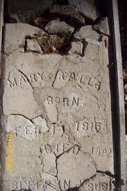 "Mary ""Polly"" Garrett Ralls (1815-1902) - Find A Grave Memorial"