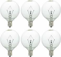 Scentsy 20 Watt Replacement Light Bulbs 25 Watt Wax Warmer Bulbs For Full Size Scentsy Bulb Warmer 6 Pack E12 Base
