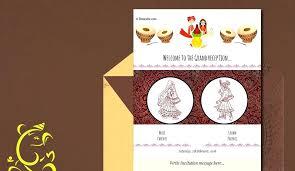 free hindu wedding invitation templates indian