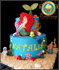 Little Mermaid Birthday Cake Party Ideas 4 Year Old Frosting Aka