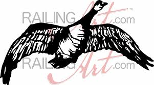 laser cut canada goose wall decor on custom metal wall art canada with canadian goose custom laser cut metal art railingart