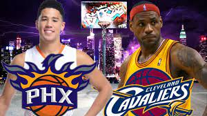 Cleveland Cavaliers VS Phoenix Suns ...