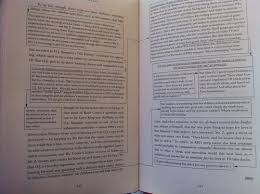 "david foster wallace ""consider the lobster"" and other essays  two pages from consider the lobster there are boxes offset from the text"