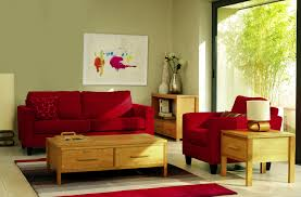 Living Room With Red Furniture Red Sofas In Living Room One Set Red Sofa Living Room Interior