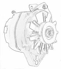 ford alternator 1 wire alternator 1 wire tuff stuff performance alternator 140 amp 1 wire single