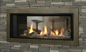 full image for double sided electric fireplace canada three fireplaces valor gas