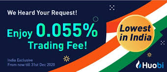 It has one of the lowest fees for us investors and offers the most cryptocurrencies to trade out of any major exchange with well over 100. Huobi Global Announces Exclusive And Lowest Fee Rate Bands For India Crypto Spot Trading Market
