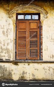 Alte Fenster Ziegel Wand Vintage Interior Design Hintergrund Und