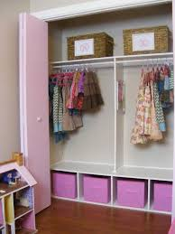 The Complete Guide to Imperfect Homemaking: organizing Love this closet  design - simple but very. Organized ClosetsStaying OrganizedKid BedroomsGirls  ...