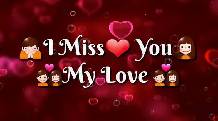 Missing my love