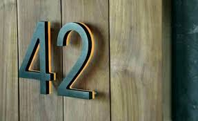 best house number signs number plaques house number plaques modern home address numbers home address numbers best house number signs