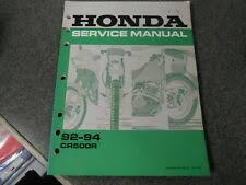 cr500 wiring honda service manual w wiring diagram 1992 1993 1994 cr500 r cr500r 61ml302