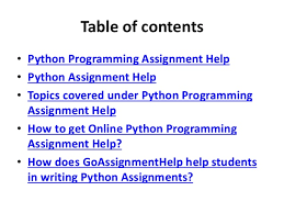 python programming assignment help python assignment experts  assignment help 2
