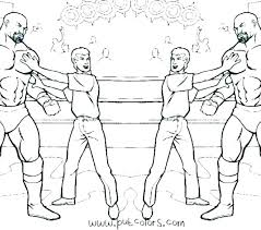 John Cena Printable Coloring Pages Wwe Colouring Mtkguideme