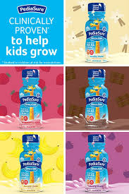 Pediasure Height And Weight Chart Available In 5 Kid Approved Flavors Learn More About How