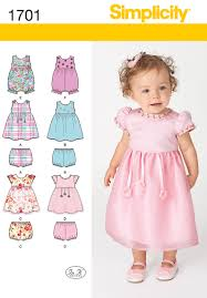 Baby Dress Patterns New Simplicity Karen Z Babies Sewing Pattern 48 Dress Separates