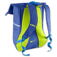 lebron bag. nike lebron ambassador basketball backpack bag ba4750 434 blue volt \