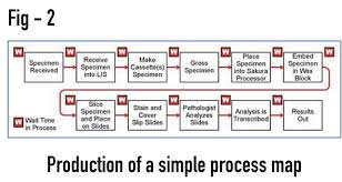 Simple Process Map Figure 2 Production Of A Simple Process Map Cellpath