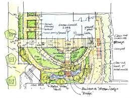 How to Draw architectural landscape design compositions ARCH