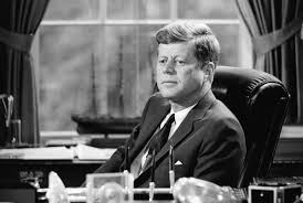 jfk in oval office. President John F. Kennedy In The Oval Office On May 11, 1962, From Jfk