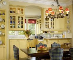 Yellow And Blue Kitchen French Country Blue And Yellow Decor Kitchen Traditional With