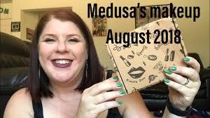 medusa makeup august 2018 and vegan free makeup subscription box