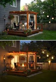 Small Picture Attractive Decking Designs For Small Gardens H51 For Home Design