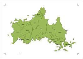 山口 県 地図