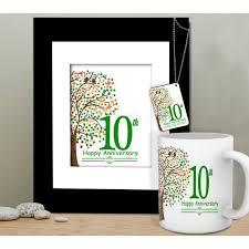10th anniversary gift for husband anniversary gift