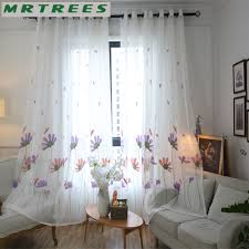 Sheer Curtains For Living Room Embroidered Sheer Curtains Promotion Shop For Promotional