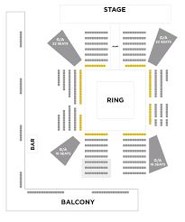 Nxt Seating Chart Wwe Presents Nxt Live Turner Hall Ballroom Apr 27